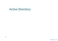Tutoriel Active Directory (AD) - Group Policy Object (GPO) 2