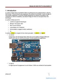 Tutoriel Arduino 2
