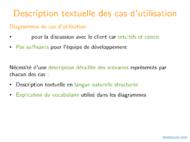 Tutoriel UML: Scénarios détaillés et diagrammes de séquence 2