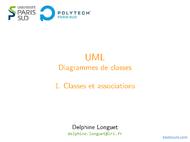 Tutoriel UML: Classes et associations 1