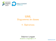 Tutoriel UML: Diagrammes de classes - Opérations 1