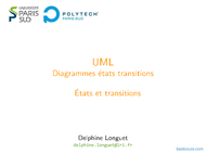 Tutoriel UML: États et transitions 1