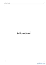 Tutoriel Référence Debian 2