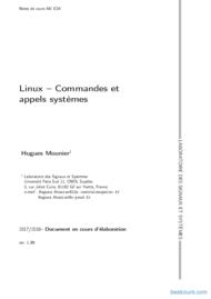 Tutoriel Linux – Commandes et appels systèmes 1