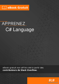 Tutoriel Apprenez le langage C# 1