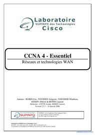 Tutoriel CCNA Module 4 1