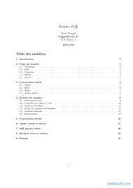 Tutoriel Oracle SQL 1