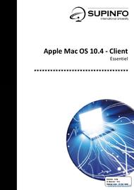 Tutoriel Apple Mac OS 10.4 - Client 1