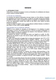 Tutoriel Cours Merise 1