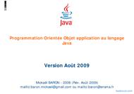 Tutoriel Orientée Objet Java 1
