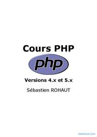 Tutoriel Cours PHP 1