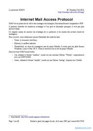 Tutoriel IMAP (Internet Mail Access Protocol) 1