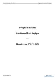 Tutoriel Langage Prolog 1