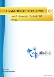 Tutoriel Outlook 2010 1