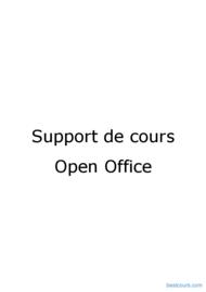 Tutoriel Open Office Writer 1