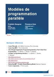 Tutoriel Programmation parallèle 1