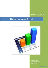 Tutoriel Débuter avec Excel 2007/2010 1