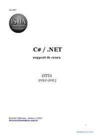 Tutoriel C# / .NET 1