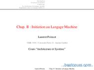 Tutoriel Initiation au Langage Machine 1