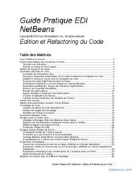 Tutoriel Guide Pratique EDI NetBeans 1