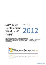 Tutoriel Service de Déploiement Windows (WDS) 1