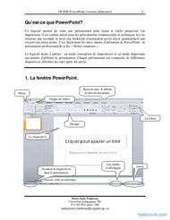 Tutoriel GUIDE PowerPoint 2007 (version débutante) 2
