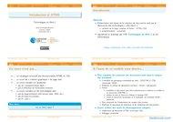 Tutoriel Introduction au HTML 1