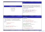 Tutoriel Développement Web (PDO) 1