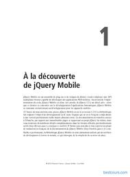 Tutoriel À la découverte de jQuery Mobile 1