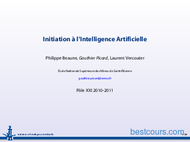 Tutoriel Initiation à l'Intelligence Artificielle IA 1