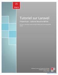 Tutoriel Tutoriel sur Laravel 1