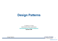 Tutoriel Design Patterns 1