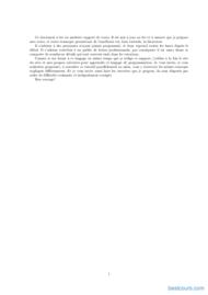 Tutoriel Introduction à la programmation en C# et exercices 2
