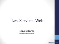 Tutoriel Les Services Web 1