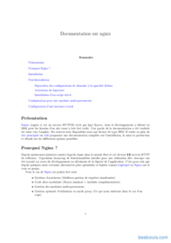 Tutoriel Documentation sur nginx 1