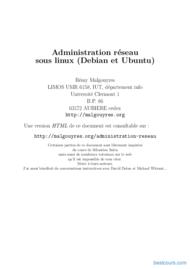 Tutoriel Administration réseau sous linux (Debian et Ubuntu) 1