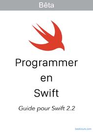 Tutoriel Programmer en Swift (Swift 2.2) 1