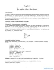 Tutoriel Les graphes et leurs algorithmes 1