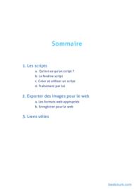 Tutoriel Adobe Photoshop - Les scripts 2