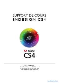 Tutoriel Support de cours InDesign CS4 1