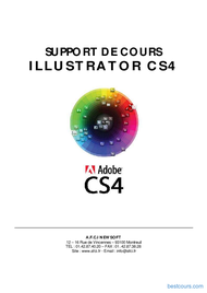 Tutoriel Support de cours Illustrator CS4 1