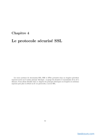 Tutoriel Le protocole sécurisé SSL 1