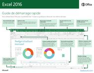 Tutoriel Excel 2016 Guide de démarrage rapide 1