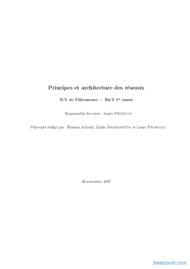 Tutoriel Principes et architecture des réseaux 1