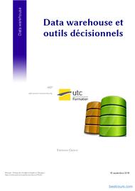 Tutoriel Data warehouse et outils décisionnels 1