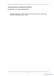 Tutoriel Manuel d'installation pour la distribution Debian GNU/Linux 2