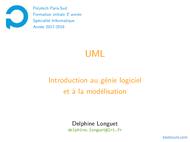 Tutoriel UML: Introduction au génie logiciel et à la modélisation 1
