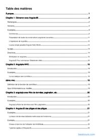 Tutoriel Apprenez AngularJS 2