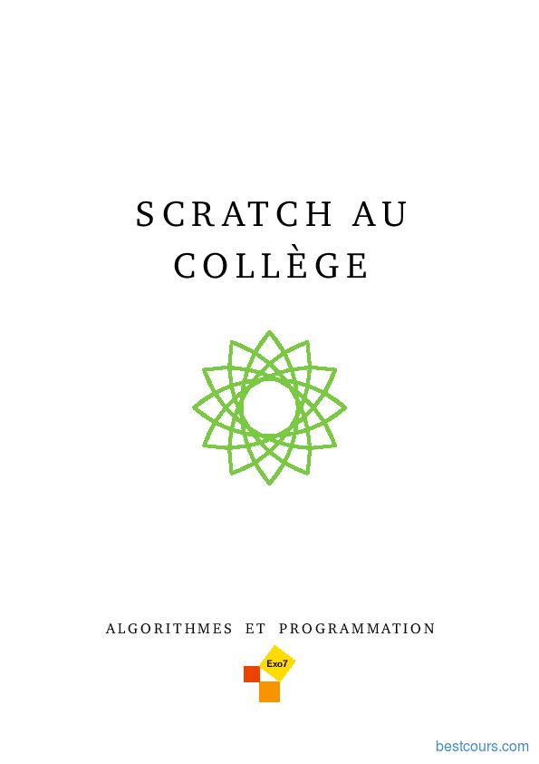 Tutoriel Programmation Scratch au collège 1